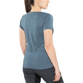 IXS Brand T-Shirt Women celeste-aqua marine